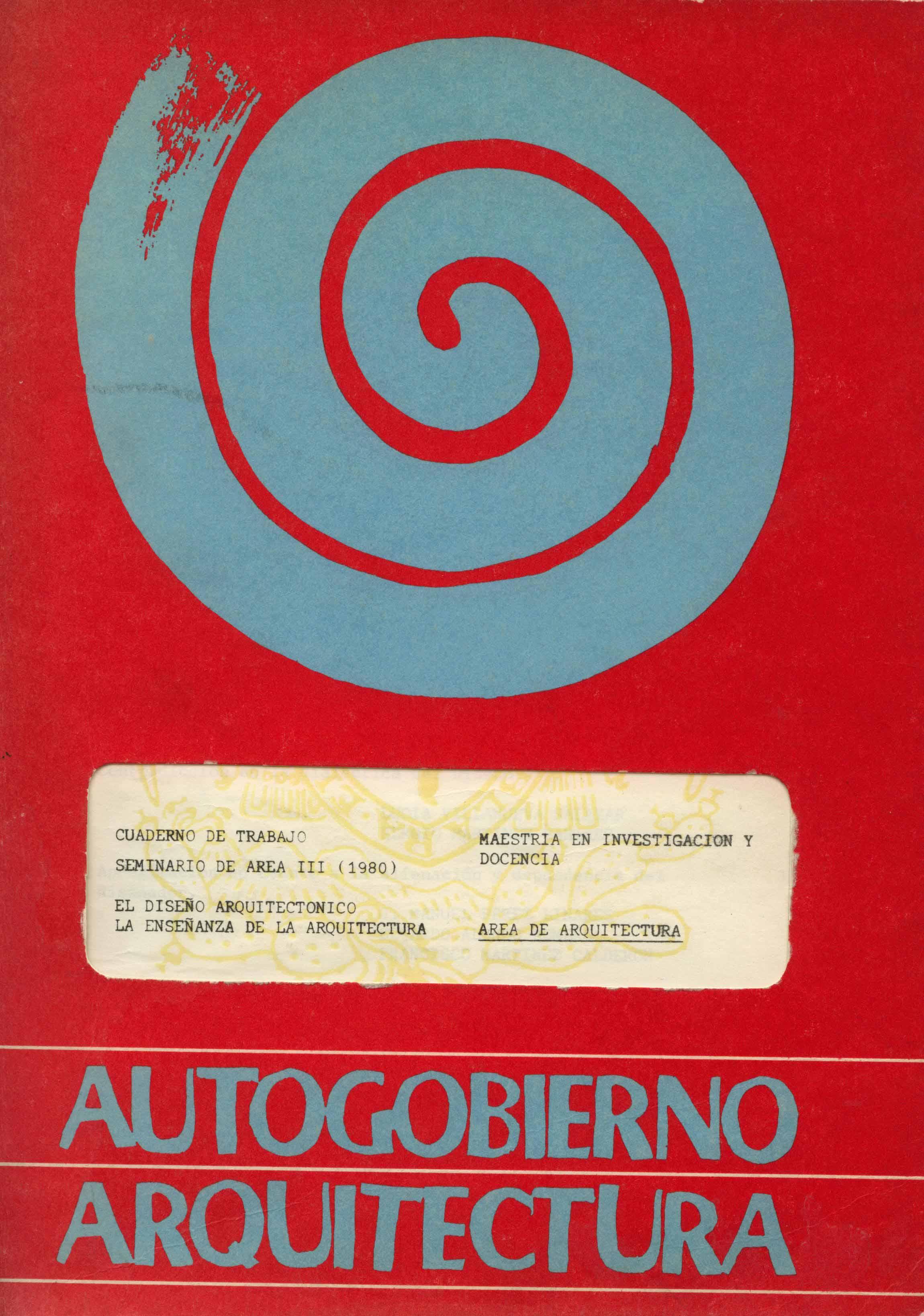Documentos para la historia de la arquitectura y el for Maestria en interiorismo arquitectonico